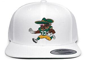 Green Bay Packers Aaron Jones Running Sombrero Snapback Hat