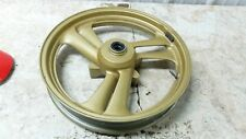 88 Honda NT650 NT 650 RC31 RC 31 Hawk GT front wheel rim straight