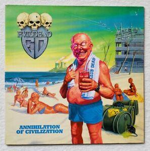 EVILDEAD . annihilation LP 1.Press 1989 IMPORT Slayer Metallica Exhorder Sodom