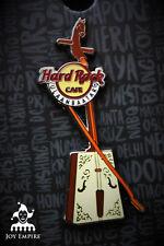 Hard Rock Cafe Ulaanbaatar Mongolia Morin Khuur Instrument Guitar Pin 2016