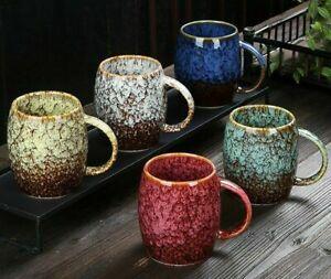 Creative Mugs 500ml Large Capacity Ceramic Coffee Tea Cups Couple Japanese-Style