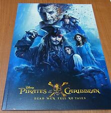 Pirates of the Caribbean Dead Men Tell No Tales Movie Program Book Disney Japan
