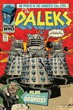 Doctor Who The Daleks British Comic Book Cover 24 x 36 Poster, NEW ROLLED #5604