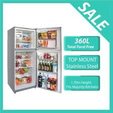 366L No Frost Fridge in Stainless Steel,12 Months Warranty