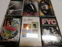 Lot of 6 Cassettes Winwood Graham Parker Cannibals Nylons Living Colour Gales