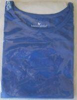 NEW Women's Perfect Scoop Crewneck T-Shirt Top Short Sleeves Plus Big Size M-6XL