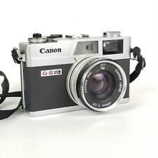 Canon Canonet QL17 GIII 35mm Rangefinder Camera Great Condition Needs Love