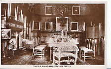 Scotland Postcard - The Old Dining Hall - Crathes Castle - Real Photograph U4404