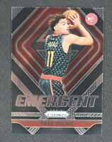 **INVEST** 2018-19 Panini Prizm Trae Young Emergent Rookie Card RC PSA 10? Mint