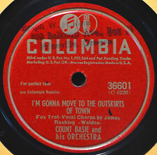Count Basie Blues I'm Gonna Move to the Outskirts of Town 78 Swing Jazz Dance