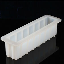 Silicone Loaf Mold Swirl Soap Making Tools DIY Cake Bread Toast Baking Tall 12''