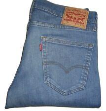 Mens Levi's 511 Slim Fit Blue (1386) Stretch Denim Jeans W34 L36