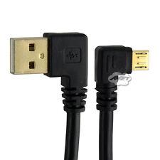 15cm USB 2.0 A Stecker Links Gewinkelt Zu Micro Stecker Rechts Gewinkelt Kabel