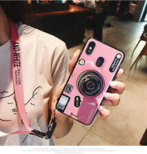 Retro Camera Shockproof Back Phone Case Cover For Apple iPhone X 6s 7 8 &Samsung