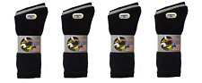 12 Pairs Mens Cotton Rich Thick Comfortable Washington Sport Socks - Size 6-11