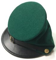 CIVIL WAR US UNION SHARPS GREEN WOOL FORAGE CAP HAT-XLARGE