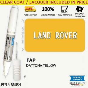 FAP Yellow Touch Up Paint for Land Rover # 702 DAYTONA YELLOW Pen Stick Scratch