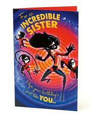 Disney's The Incredibles 2 – For An Incredible Sister - Birthday Card604