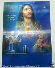 """Christianity Lord Jesus Christ & Mother Merry 3D Lenticular Photo Poster 13""""x9"""""""