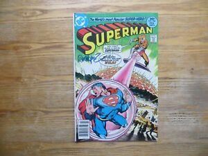 1977 VINTAGE SUPERMAN # 308 SUPERGIRL SIGNED JOSE GARCIA-LOPEZ ARTWORK POA