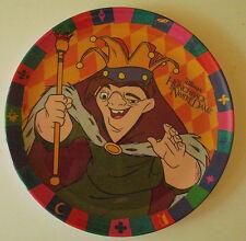 "Disney's Hunchback of Notre Dame Plastic Plate Made by ZAK Designs 8"" Diameter"