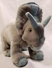 "Walking With Dinosaurs Kota Triceratops Dinosaur Plush Soft Stuffed Animal 14"""
