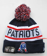 New England Patriots Throwback Biggest Fan Redux Beanie Winter Cap Hat New Era