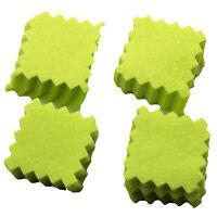 "100pcs Green Cotton 1.5""*1.5"" Gun Cleaning Patches Gun Care Gun Cleaning Cloth"