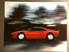 1986 Ferrari 288 GTO Coupe Print, Picture, Poster, RARE!! Awesome L@@K