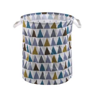 Kids Laundry Washing Dirty Clothes Basket Bin Foldable Storage Bag Toys Bag SG