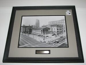 Vintage 1954 William Preston Mayfield Dayton Ohio 3rd & Main Framed Photo