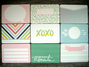 """'SEPTEMBER SKIES' PROJECT LIFE CARDS BY BECKY HIGGINS -  6"""" X 4"""""""