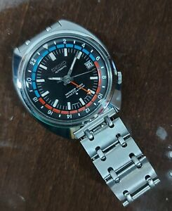 Vintage Seiko Navigator 6117-6410 Proof Dial Dated July 1970 Serviced
