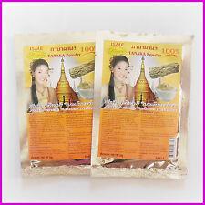 2 Pack TANAKA POWDER THANAKA Acne Anti Aging Reduce Melasma Skin Mask Scrub