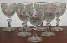 Bavarian Lead Crystal Wine Glasses