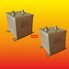 30 uF 300 V STRONG MATCHED RUSSIAN PAPER IN OIL PIO AUDIO CAPACITORS MBGO-2