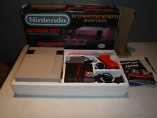 Nintendo Nes Action Set System Complete Boxed with Super Mario Bros./Duckhunt