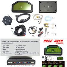 Dash Race Display, Dashboard Screen Sensors Kits, 9000rpm Tacho Gauge Instrument