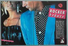ROCKERBRÄUTE  -  Clipping/Bericht aus dem Jahr 1986  -  Musikzeitschrift
