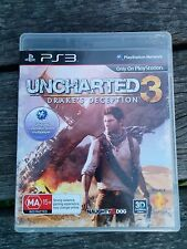 Uncharted 3: Drake's Deception PS3 **TESTED** **VGC**