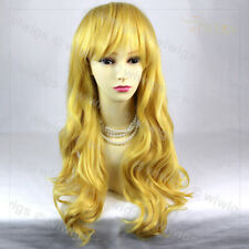 Wiwigs Dazzling Sexy Long Wavy Blonde mix Cosplay Party Hair from WIWIGS UK