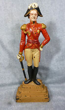 1940's Large Sized Cast Iron Duke of Wellington Doorstop - Victor at Waterloo