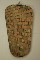 50er Nierenspiegel Wandspiegel Vintage Spiegel Mid-Century Garderobenspiegel 3