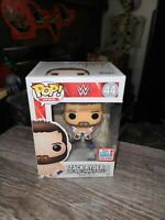 Funko Pop WWE Zack Ryder 44 2017 Fall Convention Exclusive autographed new price