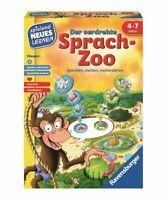 Ravensburger Lernspiel Der verdrehte Sprach-Zoo   Kinderspiel   Spiel ab 4 Jahre