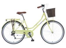 Biciclette gialli in acciaio, per donna