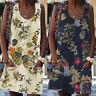 ZANZEA Womens Summer Sleeveless Floral Beach Sun Dress Long Tank Mini Dresses