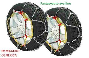 Catene da neve 9 mm SUZUKI JIMNY misura pneumatici 205/70 R15