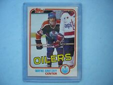 1981/82 TOPPS NHL HOCKEY CARD #16 WAYNE GRETZKY NM+ SHARP!! TOPPS 81/82