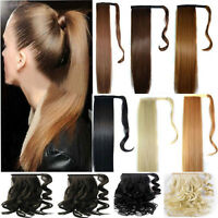 mega long Clip In Hair Extension wrap around clip on